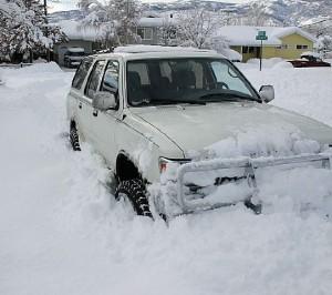 Закъсах в снега